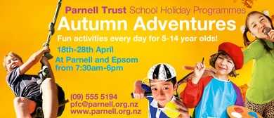Parakai Pools - Parnell Trust Holiday Programme