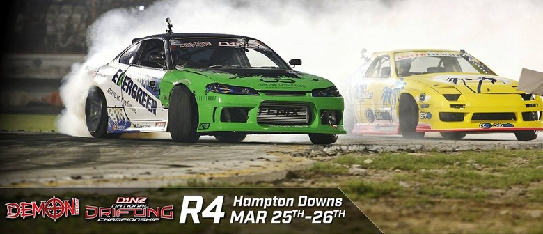 Demon Energy D1NZ Drifting Championship: Hampton Downs 2017