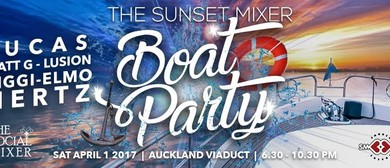The Sunset Mixer - Boat Party