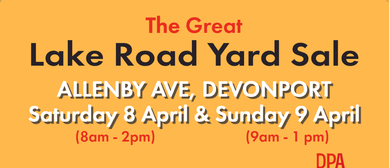 The Great Lake Road Yard Sale