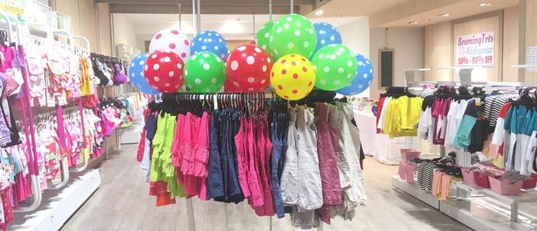 Beaming Tots Kidswear Pop Up Sale