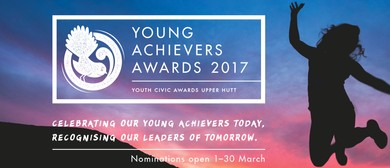 2017 Upper Hutt City Young Achievers Awards
