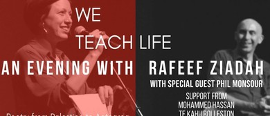 We Teach Life: A Poetry Evening With Rafeef Ziadah