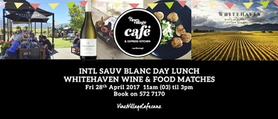 International Sauv Blanc Day Lunch & Tasting