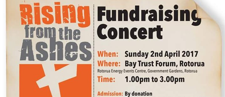 Rising From the Ashes - Fundraising Concert