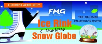Ice Fest 2017 - Ice Rink and Snow Globe