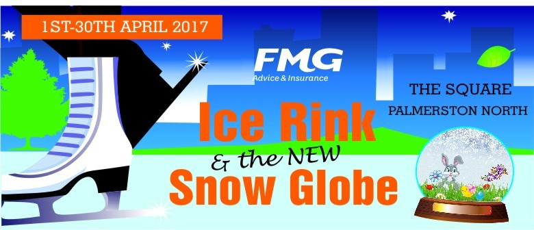 Ice Fest 2017 - Ice Rink and Snow Globe