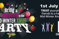 Bring Your Party to The Mid-Winter Xmas Party 2017 at No.5: SOLD OUT