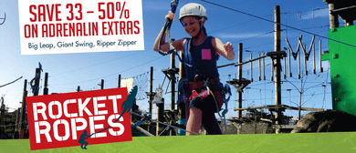 High Ropes Fun These Holidays