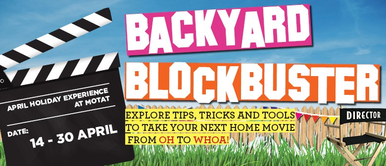 Backyard Blockbusters Holiday Experience