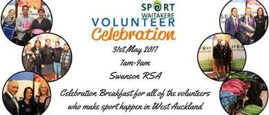 Sport Waitakere Volunteer Celebration Breakfast