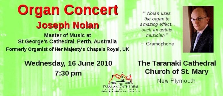 Joseph Nolan: Organ Concert