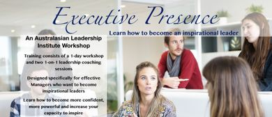 Executive Presence: Leadership Training For Executives