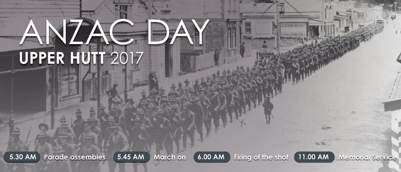 2017 Anzac Day Dawn Parade and Service of Rememberance