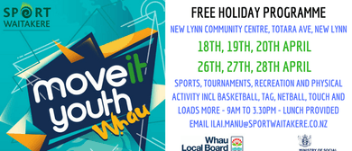 Move It Youth - Whau - Holiday Programme