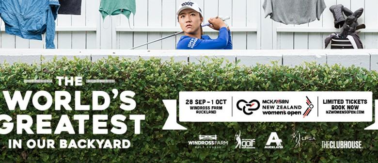 McKayson New Zealand Women's Open - LPGA Tour