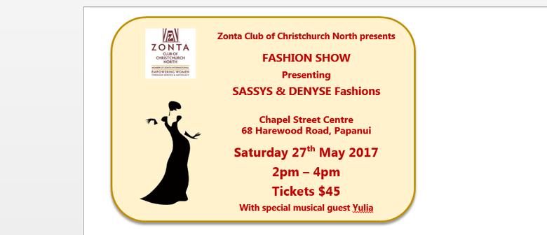 Zonta Club of Christchurch North Fashion Show