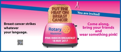 Rotary Masterton 5th Annual Pink Ribbon Breakfast