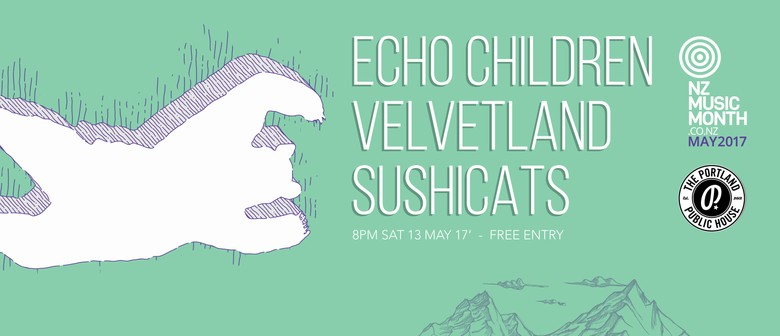 Echo Children, Velvetland, Sushi Cats
