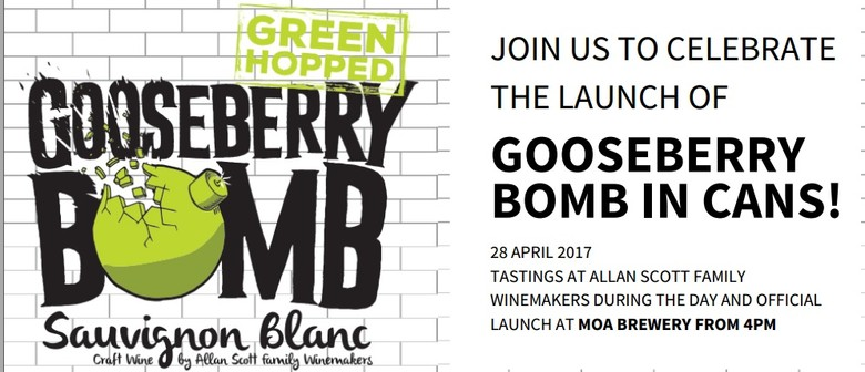 Gooseberry Bomb Craft Wine Launch