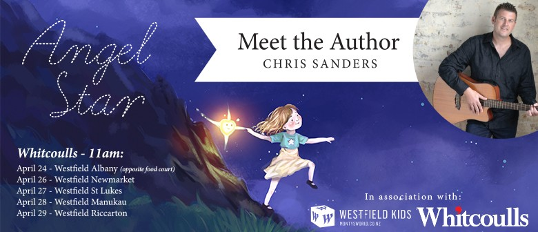 Meet Angel Star Children's Author & Songwriter Chris Sanders