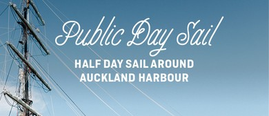 Public Day Sail - The Spirit of New Zealand