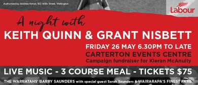 A Night With Keith Quinn and Grant Nisbett