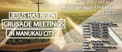 Potters House Crusade Meetings In Manukau City