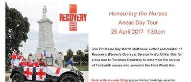 Anzac Day Tour - Honouring the Nurses