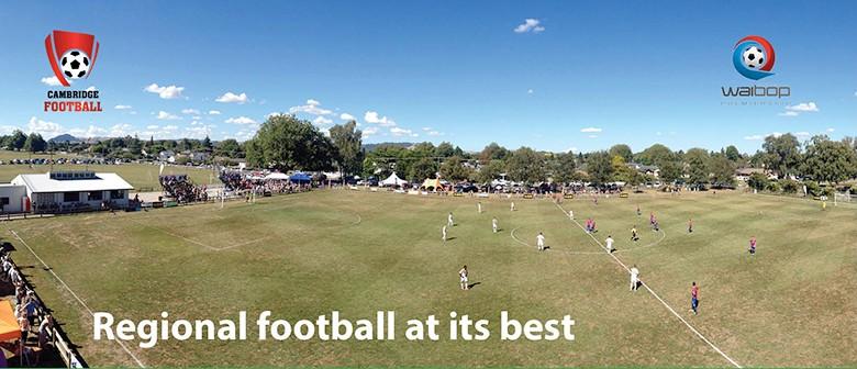 Cambridge vs Rotorua United (WaiBOP Premiership Football)