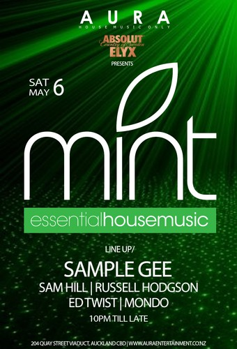 mint essential house music auckland eventfinda