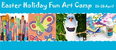 School Holiday Kid's Fun Art Camp