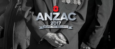 Anzac Day - Tauranga Civic Memorial Service 2017