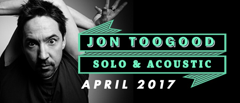 Jon Toogood - Solo & Acoustic: SOLD OUT
