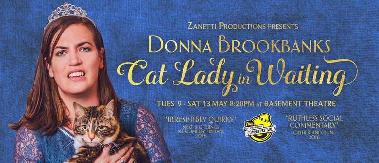 Donna Brookbanks - Cat Lady In Waiting