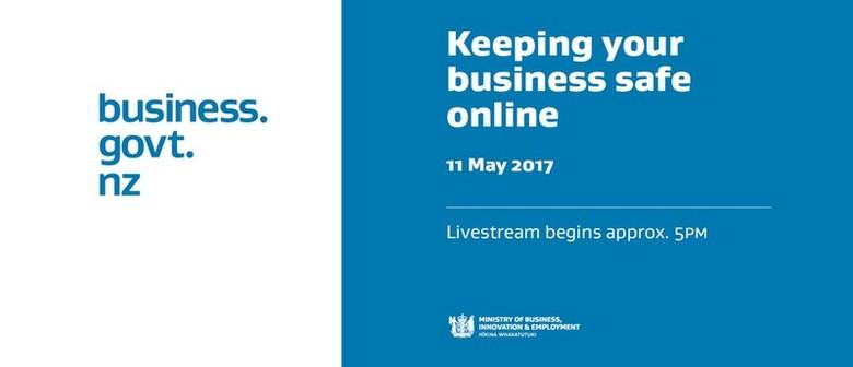 Techweek '17 Wellington - Keeping Your Business Safe Online