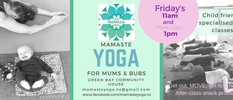 Mamaste Yoga for Mums