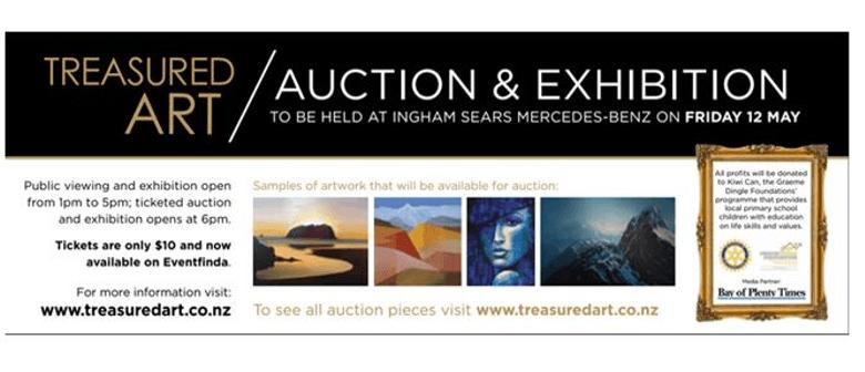 Treasured Art Auction & Exhibition