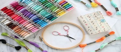 Stitch In - Embroidery Demonstrations