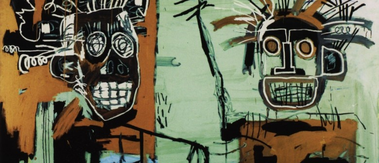 Playing With Paint - Jean Michel Basquiat