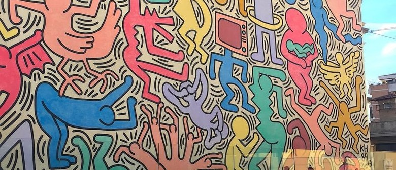 Playing With Paint - Keith Haring