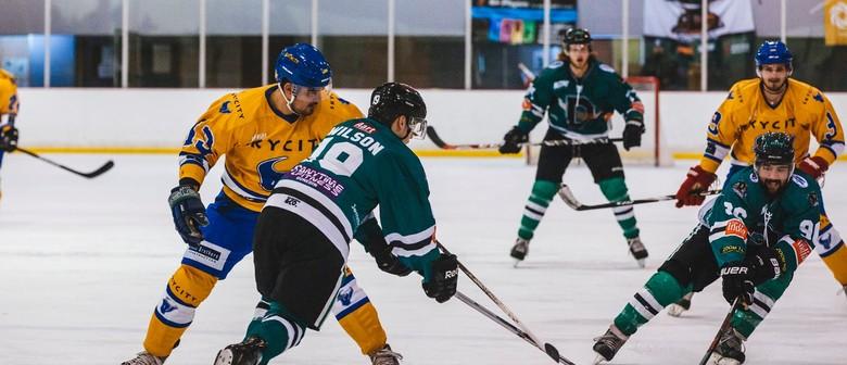 Ice Hockey Game #5 - Dunedin Thunder Vs Queenstown Stampede