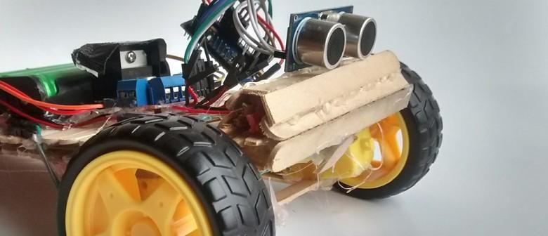 Grunge Bots: A Robot Making Workshop