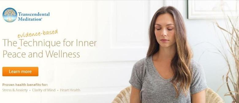Transcendental Meditation Introductory Talks