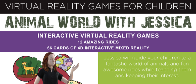 Animal World: Children's Virtual Reality Game Launch Event