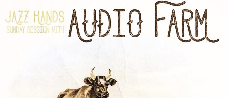 Jazz Hands With Audio Farm