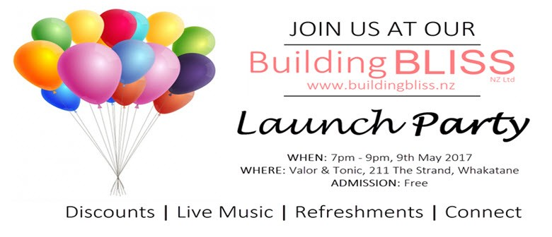 Building Bliss Launch Party