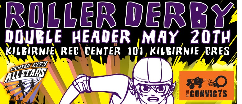 Roller Derby Double Header