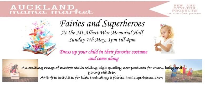 Fairies and Superheroes - Auckland Mama Markets