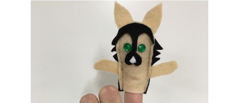 Police Dog Finger Puppets